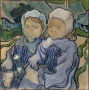 Deux fillettes (Van Gogh Vincent) - Muzeo.com
