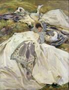 Deux Robes Blanches (John Singer Sargent) - Muzeo.com