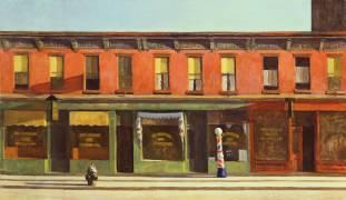Early Sunday Morning (Edward Hopper) - Muzeo.com