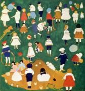 Enfants (Kazimir Malevitch) - Muzeo.com