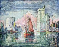 Entrée du port de la Rochelle (Paul Signac) - Muzeo.com