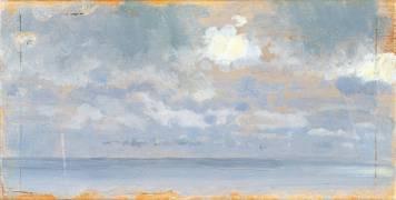 Etude de Nuages (Giuseppe de Nittis) - Muzeo.com