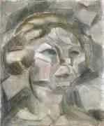 Etude pour la Tête de l'Abondance (Henri Le Fauconnier) - Muzeo.com