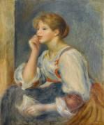 Femme à la lettre (Auguste Renoir) - Muzeo.com