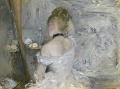 Femme à sa Toilette (Berthe Morisot) - Muzeo.com