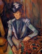 Femme en bleu (Cézanne Paul) - Muzeo.com