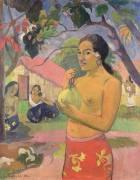 Femme et mangue (Paul Gauguin) - Muzeo.com