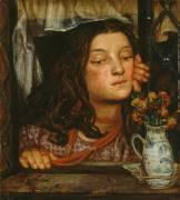 Fille au treillis (Rossetti Dante Gabriel) - Muzeo.com