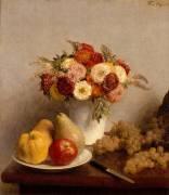 Fleurs et fruits (Fantin-Latour Henri) - Muzeo.com