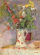 Fleurs sauvages (Pierre Bonnard) - Muzeo.com
