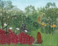 Forêt Tropicale avec Singes (Henri Rousseau) - Muzeo.com