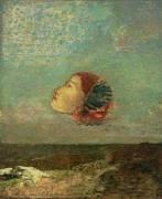 Hommage à Goya (Odilon Redon) - Muzeo.com
