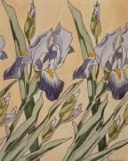 Iris (Koloman Moser) - Muzeo.com