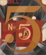 J'ai vu le chiffre 5 en or (Charles Demuth) - Muzeo.com