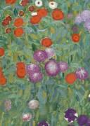 Jardin de fleurs (Gustav Klimt) - Muzeo.com