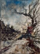 Jésus Christ au jardin des oliviers (Moreau Gustave) - Muzeo.com