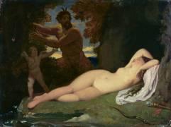 Jupiter et Antiope (Ingres Jean-Auguste-Dominique) - Muzeo.com