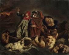 La Barque de Dante (Edouard Manet) - Muzeo.com