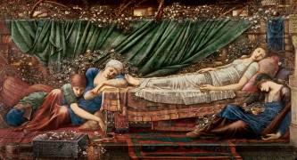 La Belle au bois dormant (Edward Burne-Jones) - Muzeo.com