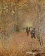 La chasse (Monet Claude) - Muzeo.com