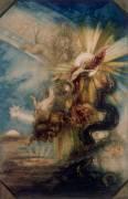 La chute de Phaéton, projet de plafond (Moreau Gustave) - Muzeo.com