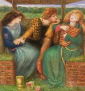 La femme sans pitié (Rossetti Dante Gabriel) - Muzeo.com