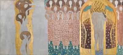 La frise Beethoven (Klimt Gustav) - Muzeo.com