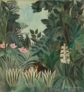La Jungle Equatoriale (Henri Rousseau) - Muzeo.com