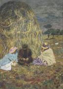 La meule (Edouard Vuillard ) - Muzeo.com