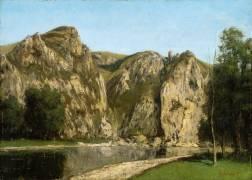La Meuse à Freyr (Gustave Courbet) - Muzeo.com