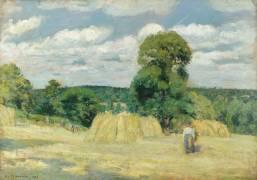 La Moisson (Camille Pissarro) - Muzeo.com