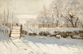 La pie (Claude Monet) - Muzeo.com