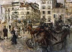La Place Pigalle (Giovanni Boldini) - Muzeo.com