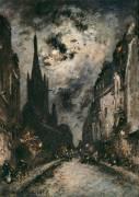 La rue Saint Séverin (Johan Barthold Jongkind) - Muzeo.com