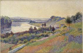 La Seine à Herblay (Maximilien Luce) - Muzeo.com
