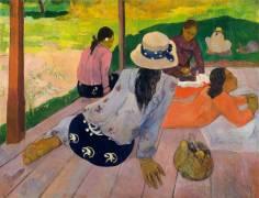 La Sieste (Gauguin Paul) - Muzeo.com
