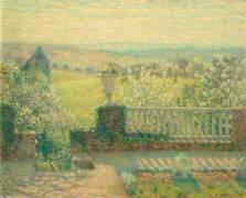 La terrasse (Henri Le Sidaner) - Muzeo.com