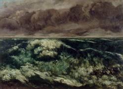 La Vague (Courbet Gustave) - Muzeo.com