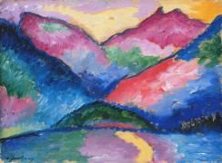 La Vallée Oy (Alexej von Jawlensky) - Muzeo.com