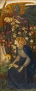 L'Annonciation (Rossetti Dante Gabriel) - Muzeo.com