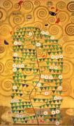 L'arbre de Vie (frise de la villa Stoclet) (Gustav Klimt) - Muzeo.com