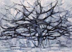 L'arbre gris (Mondrian Piet) - Muzeo.com