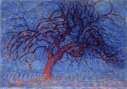 L'arbre rouge : soirée (Mondrian Piet) - Muzeo.com