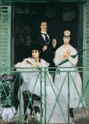 Le balcon (Francisco de Goya) - Muzeo.com