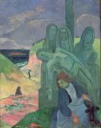 Le Christ Vert (Calvaire breton) (Gauguin Paul) - Muzeo.com