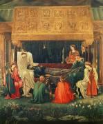 Le Dernier Sommeil d'Arthur à Avalon (Edward Burne-Jones) - Muzeo.com