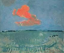 Le nuage rouge (Piet Mondrian) - Muzeo.com