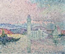 Le Phare d'Antibes (Paul Signac) - Muzeo.com