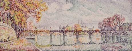Le Pont des Arts (Signac Paul) - Muzeo.com