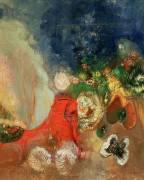 Le Sphinx Rouge (Odilon Redon) - Muzeo.com